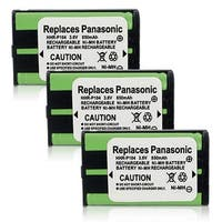 Replacement Panasonic KX-TG5240 NiMH Cordless Phone Battery (3 Pack)