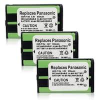 Replacement Panasonic KX-TGA550M NiMH Cordless Phone Battery (3 Pack)