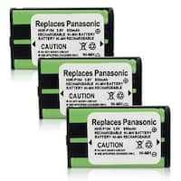 High Quality Generic Battery For Panasonic HHR-P104 Cordless Phone Model (3 Pack)