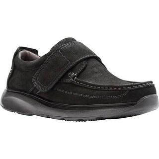 Propet Men's Otto Slip-On Black Tumbled Leather