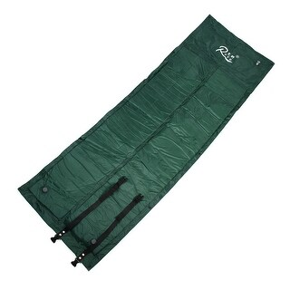 Outdoor Camping Mummy Caming Hinking Foldable Sleeping Bag Army Green 175 x 75cm
