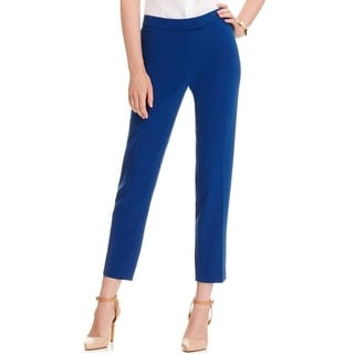 Anne Klein Womens Dress Pants Cropped Flat Front