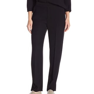 VINCE. Black Women's Size Small S Pleated Knit Lounge Pants
