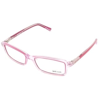 Just Cavalli JC0531/V 078 Clear Pink Rectangle Optical Frames