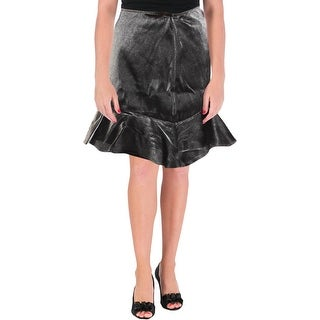 Cinq a Sept Womens Harley Mini Skirt Asymmetrical Special Occasion