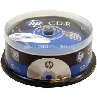 Hp Cr52020Cb 700Mb Cd-Rs, 20-Ct Spindle