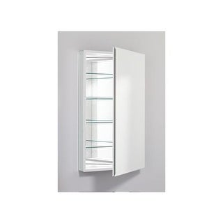"""Robern PLM2440WB 23"""" Mirrored Bathroom Cabinet with Beveled Door from the PL Ser"""