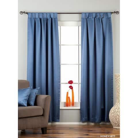 Blue Tab Top 90% blackout Curtain / Drape / Panel - Piece