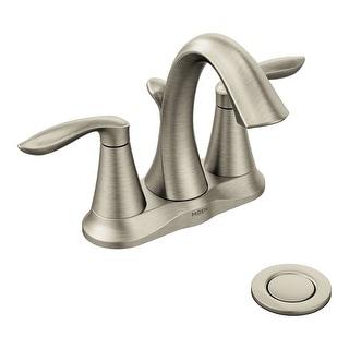 Moen 6410  Eva 1.2 GPM Centerset Bathroom Faucet (Valve Included)