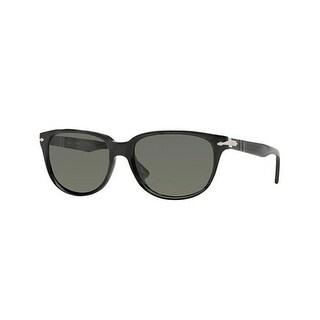 Persol PO3104S 54 901458 Sunglasses Round Black Frames Polarized Lens