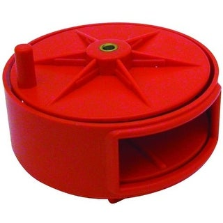 Marshalltown TWR26 Tie Wire Reel, Red, Plastic