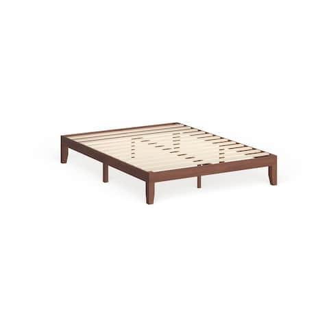 Porch & Den Neron Solid Wood Queen-size 12-inch Platform Bed
