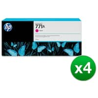 HP 771A 775-ml Magenta DesignJet Ink Cartridge (B6Y17A) (4-Pack)