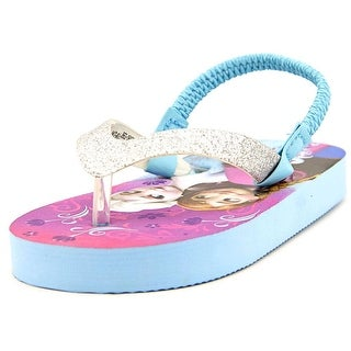 Disney Princess Frozen Flip Flops Toddler Open-Toe Synthetic Slingback Sandal