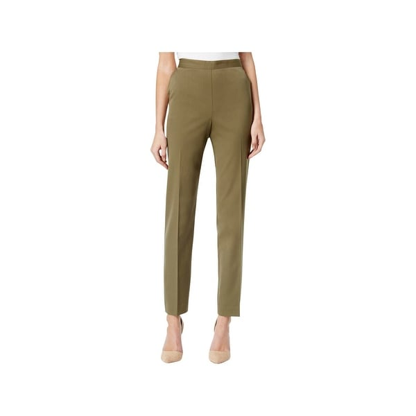 16867cf46fd Shop Alfred Dunner Womens Ankle Pants Pull-On Classic Fit - Free ...