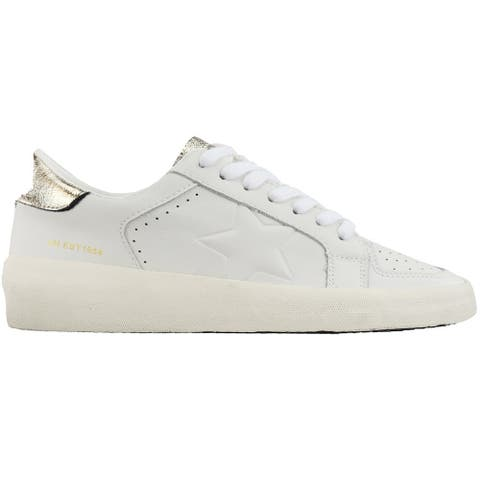 Vintage Havana Reflex Lace Up Womens Sneakers Shoes Casual - White