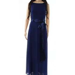 Lulus Womens Deep V-Back Ribbon-Belt Sheath Dress