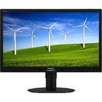 """Philips 220B4LPCB Philips Brilliance 220B4LPCB 22"" LED LCD Monitor - 16:10 - 5 ms - Adjustable Display Angle - 1680 x 1050"
