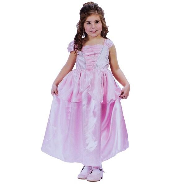 Pink Princess Medium Girls Costume Size 4-6