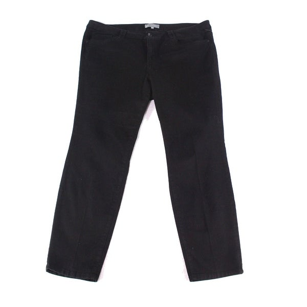 e67d1ba5db9 Wit   Wisdom NEW Black Women s Size 22 Straight Leg Stretch Jeans ...