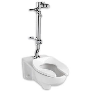 "American Standard 6047.861  1.6 Exposed Toilet Flush Valve for 1-1/2"" Top Spud Installation - Chrome"