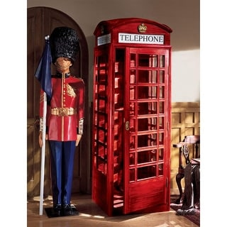 Link to Design Toscano Authentic Replica British Telephone Booth Similar Items in Collectibles