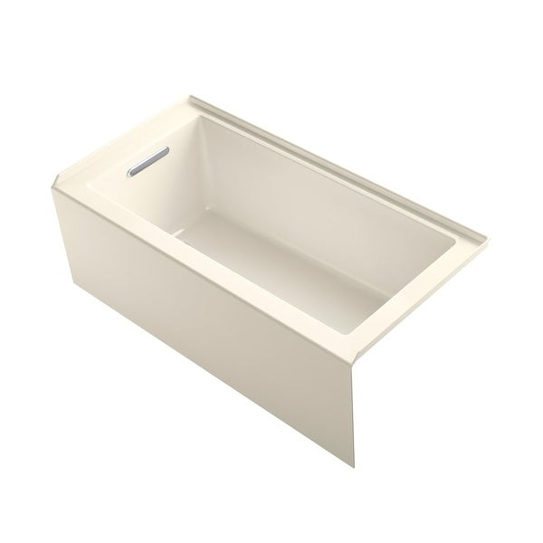 "Shop Kohler K-1956-LA Underscore 60"" Soaking Bathtub For"