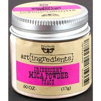 Finnabair Art Ingredients Mica Powder .6oz-Peach Opal Magic
