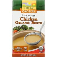 Field Day Broth - Organic - Chicken - 32 oz - case of 12