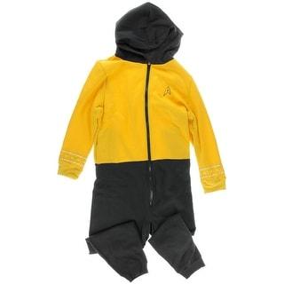 Robe Factory Mens Fleece Hooded Union Suit - XXL