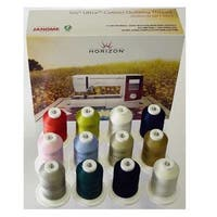 Janome Horizon Best 12 Iris Cotton Quilting Thread Set