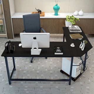 Tribesigns Modern L-Shaped Desk Corner Computer Desk Study Home Office