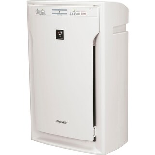 Sharp FPA80UW Plasmacluster Ion Air Purifier with True HEPA Filter - White