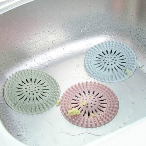 Bathroom Kitchen Hair Catcher Stopper Floor Drain Shower Filter Sink Strainer