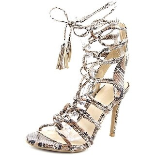 Wild Diva Berlin-18 Women Open Toe Synthetic Nude Sandals
