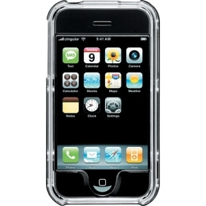 Body Glove Black Snap on Case for Apple iPhone
