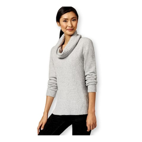 Style&Co. Womens Soft Cowl-Neck Pullover Sweater