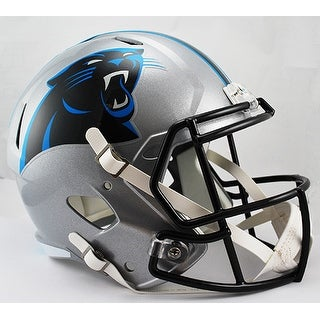 Carolina Panthers Riddell Full Size Deluxe Replica Speed Football Helmet