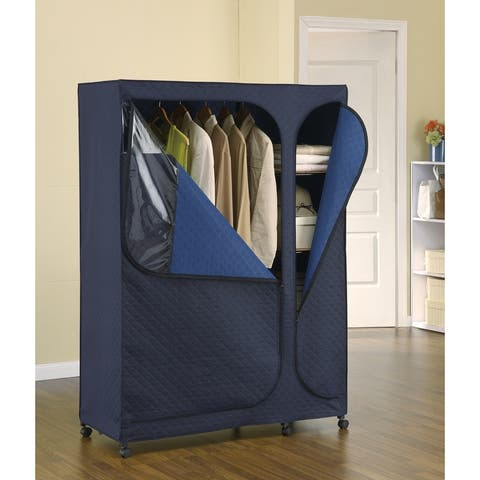 "Neu Home Portable Storage Armoire Closet - 20"" x 45.50"" x 64"""