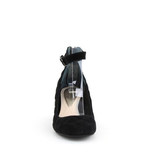 Alfani Ashiaa Ankle Strap Pump Black