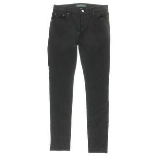 LRL Lauren Jeans Co. Womens Denim Slimming Fit Skinny Jeans