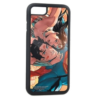 Superman Wonder Woman Issue #11 Selfie Variant Cover Pose Clouds Fcg Cell Phone Case iPhone6 Rubber Case