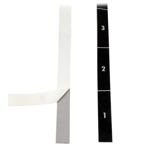 Startech Rack Unit Labels - Server Rack Unit Alignment Strips Up To 49U 2-P