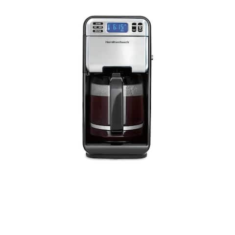 Hamilton Beach 12 Cup Digital Coffee Maker with Removable Water Reservoir