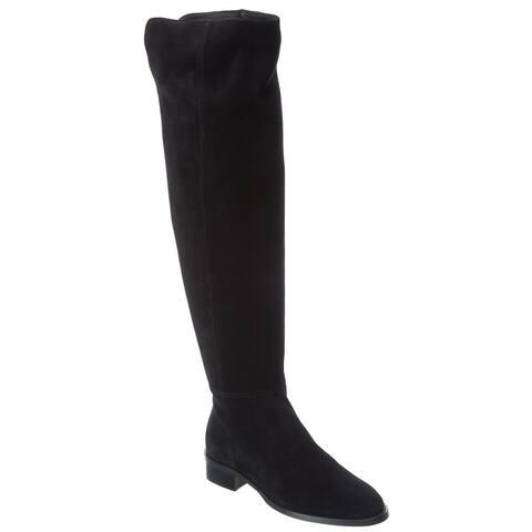 Aquatalia Nahla Weatherproof Suede Over-The-Knee Boot