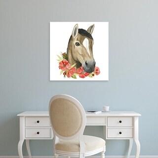 Easy Art Prints Grace Popp's 'Poppy Farm II' Premium Canvas Art