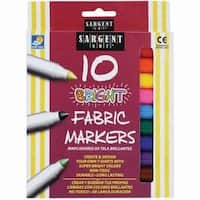 - Bright Fabric Markers 10/Pkg