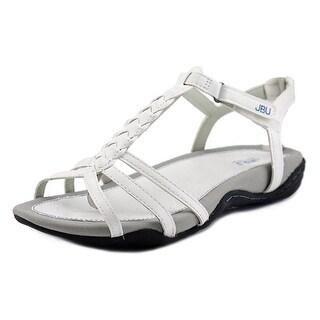 JBU by Jambu Azalea Women Open-Toe Synthetic White Slingback Sandal