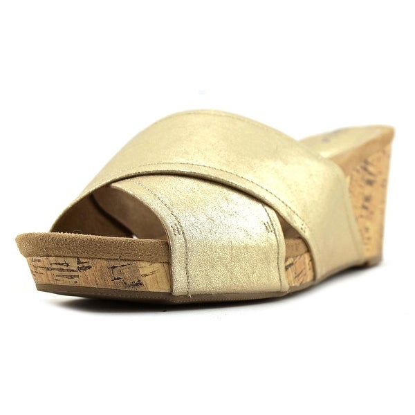 Style & Co Jillee Women Light Gold Sandals