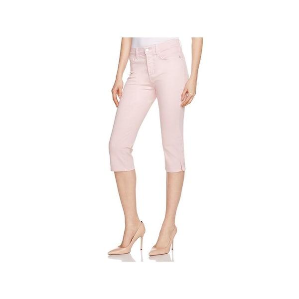 b9c142872e0 Shop NYDJ Womens Ariel Cropped Jeans Denim Side Slit - Free Shipping ...
